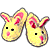 Yellow Bunnyslippers